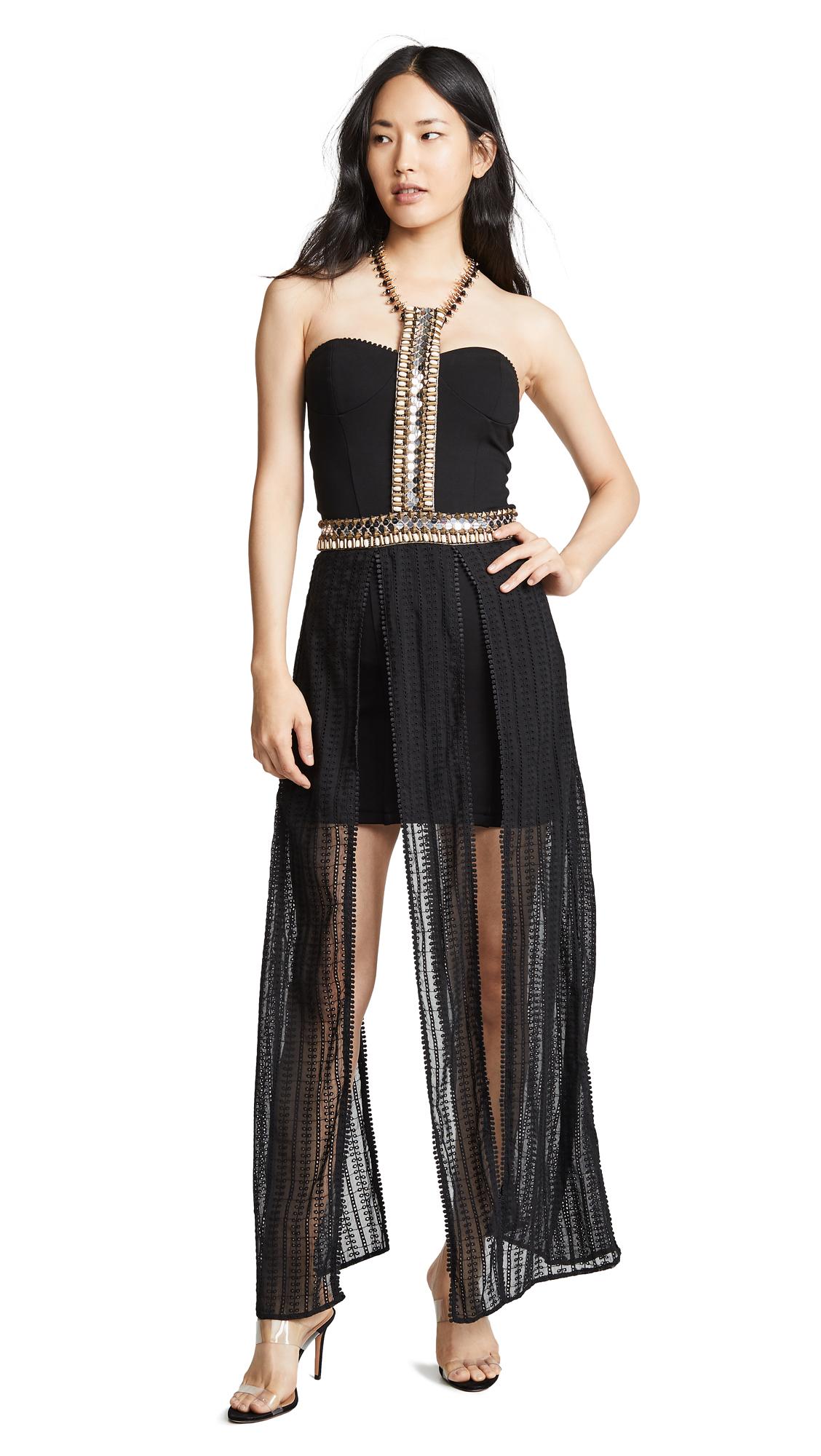 Ixiah Zusonic 2 Piece Dress In Black