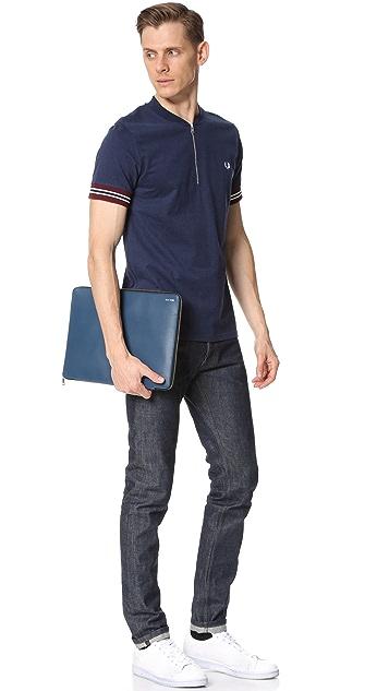 Jack Spade Grant Leather Portfolio