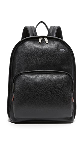 Jack Spade Mason Leather Backpack