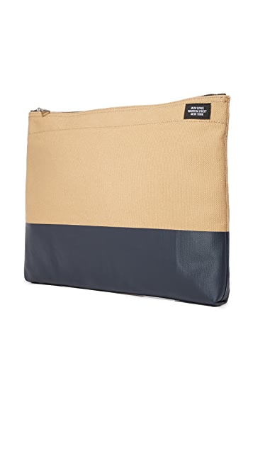Jack Spade Dipped Canvas Bankers Envelope