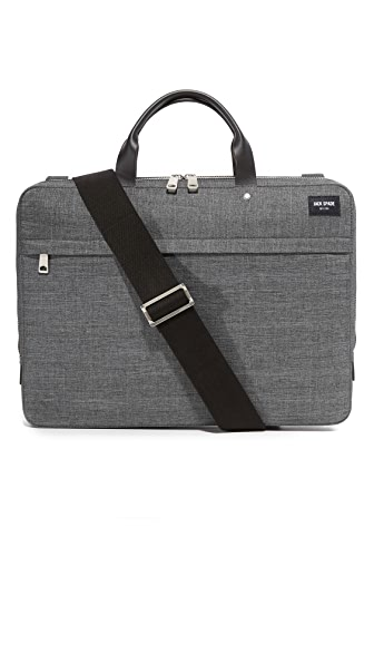 Jack Spade Tech Oxford Slim Briefcase