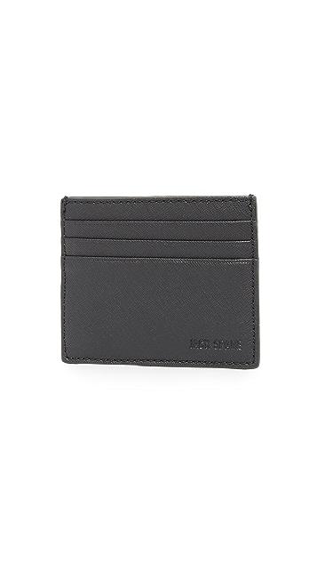 Jack Spade Barrow Leather 6 Card Holder