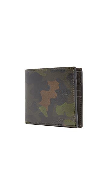 Jack Spade Camo Leather International Wallet