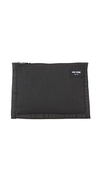 Jack Spade Ripstop Cord Pouch