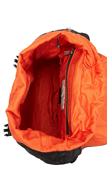 Jack Spade Quilted Waxwear Army Backpack