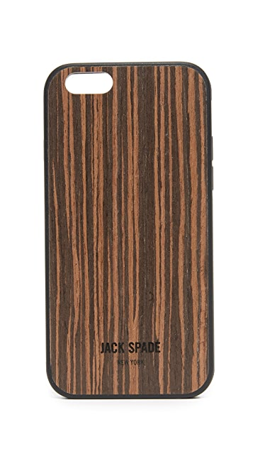 Jack Spade Macassar Wood iPhone 6 / 6s Case