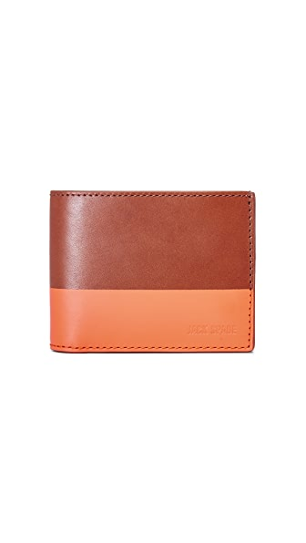 Jack Spade Dipped Leather Slim Billfold