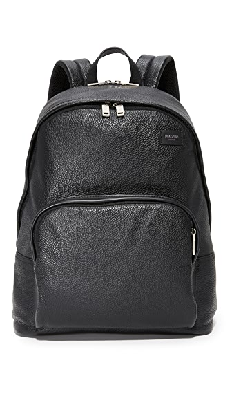 Jack Spade Pebbled Leather Backpack