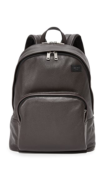 Jack Spade Pebbled Leather Backpack