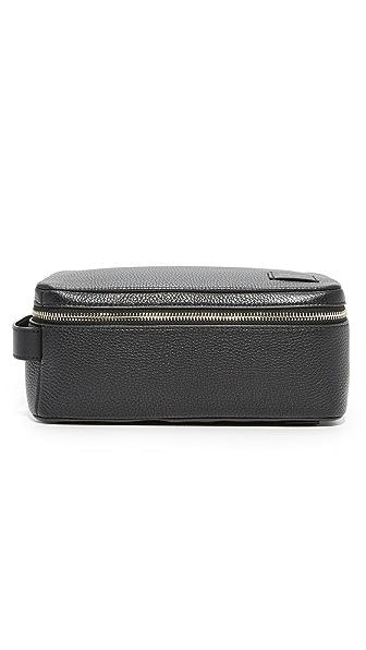 Jack Spade Pebbled Leather Travel Kit
