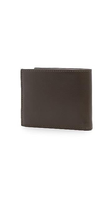 Jack Spade Camo Interior Wallet