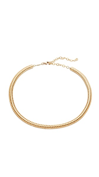 Jacquie Aiche JA Flat Chain Choker Necklace