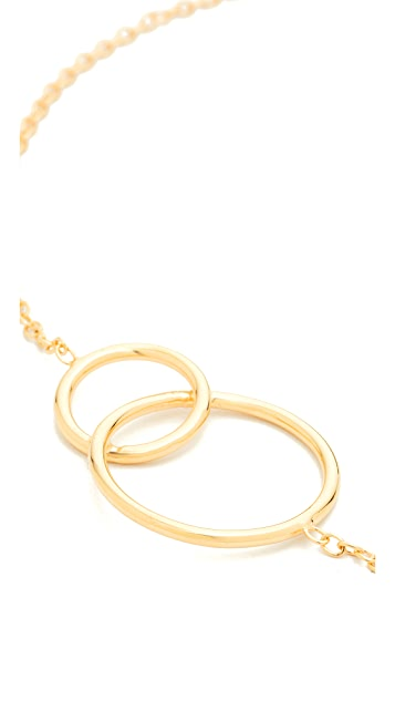 Jacquie Aiche JA Overlapping Circles Choker Necklace