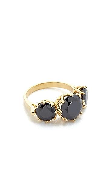 Jacquie Aiche JA 3 Round Onyx Ring