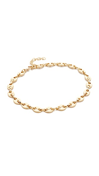 Jacquie Aiche JA Oval Link Anklet