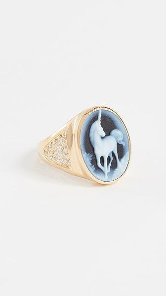 Jacquie Aiche JA Large Unicorn Ring