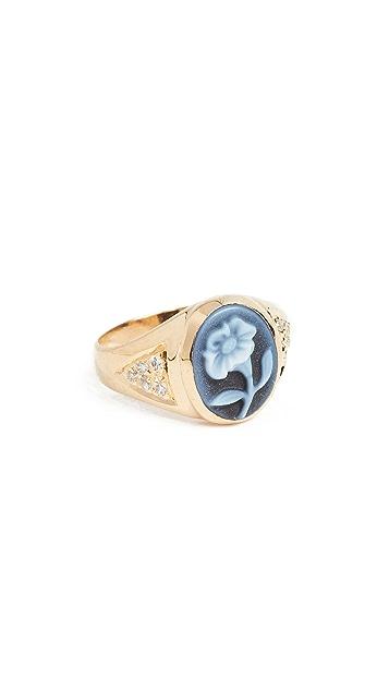 Jacquie Aiche JA Small Daisy Ring