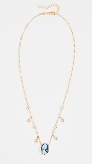 Jacquie Aiche Cameo Necklace