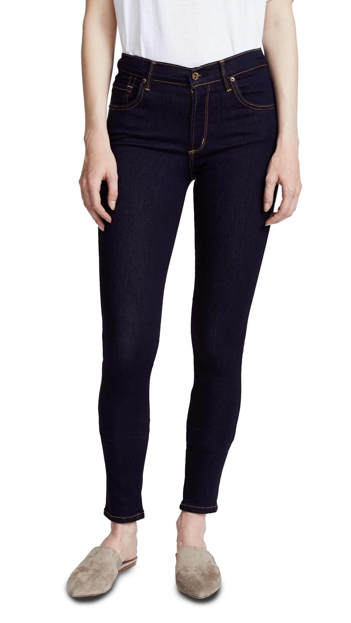 James Jeans Twiggy 5 Pocket Legging Jeans - China Doll
