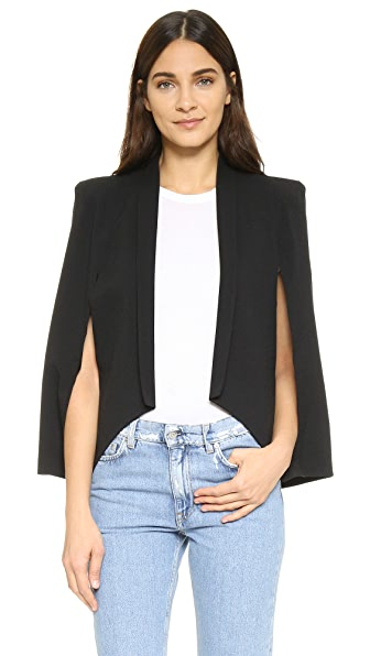 James Jeans Blazer Cape - Black