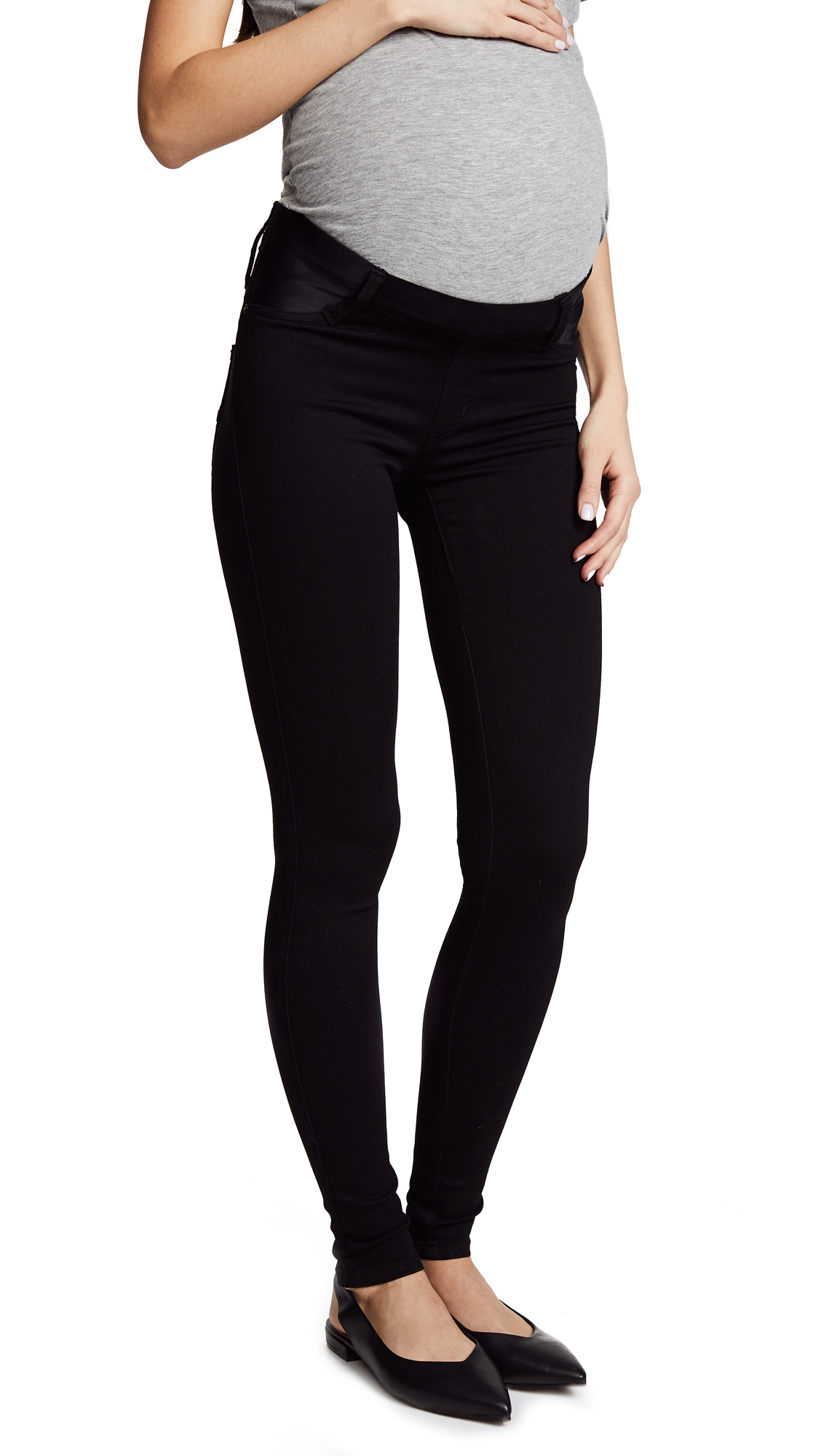 Twiggy Maternity Under Belly Pull On Jeans