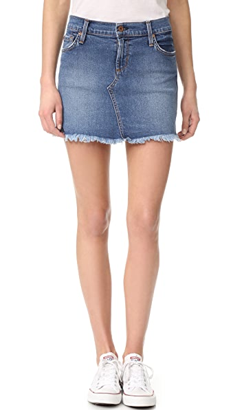 James Jeans Обрезанная мини-юбка