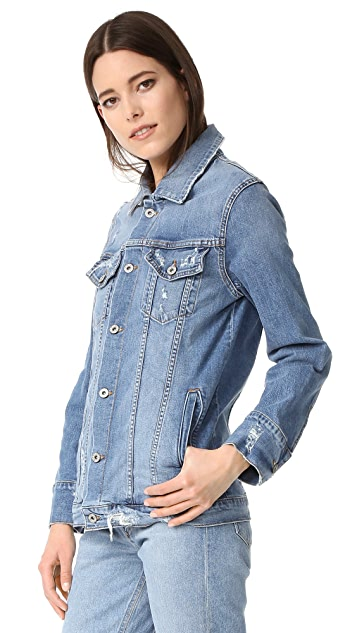 James Jeans Oversized Boyfriend Jacket