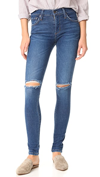 James Jeans Mid Rise James Twiggy Legging Jeans - Victory