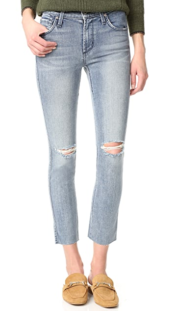 James Jeans Mid Rise Ankle Length Ciggy Jeans