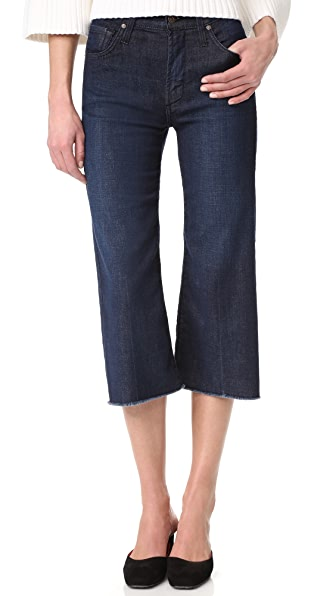 High Rise Frayed Hem Carlotta Jeans