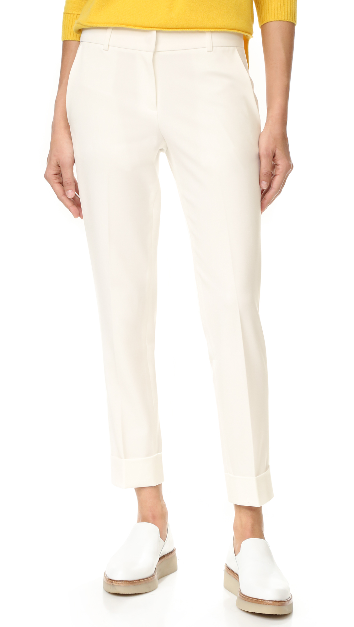 7f9b2299067c2a James Jeans Slouchy Trousers | SHOPBOP