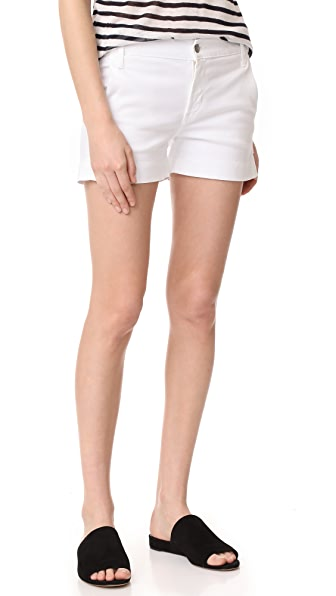 James Jeans Trouser Shorts - Frost White
