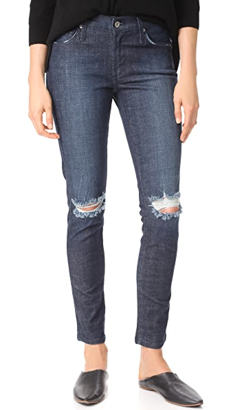 James Jeans James Twiggy Mid Rise Legging Jeans In Carbon