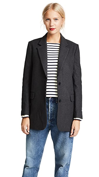 James Jeans Elongated Boyfriend Blazer at Shopbop