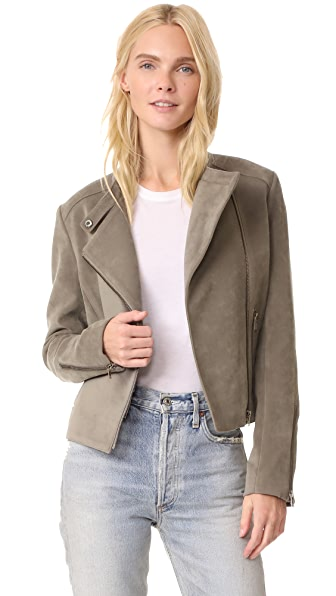 James Jeans Cropped Motorcycle Jacket