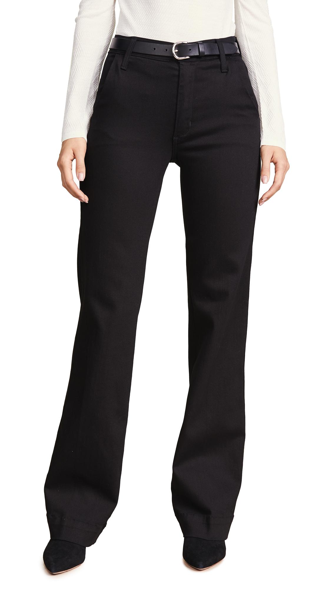JAMES JEANS Jhene Trouser Jeans in Flat Black