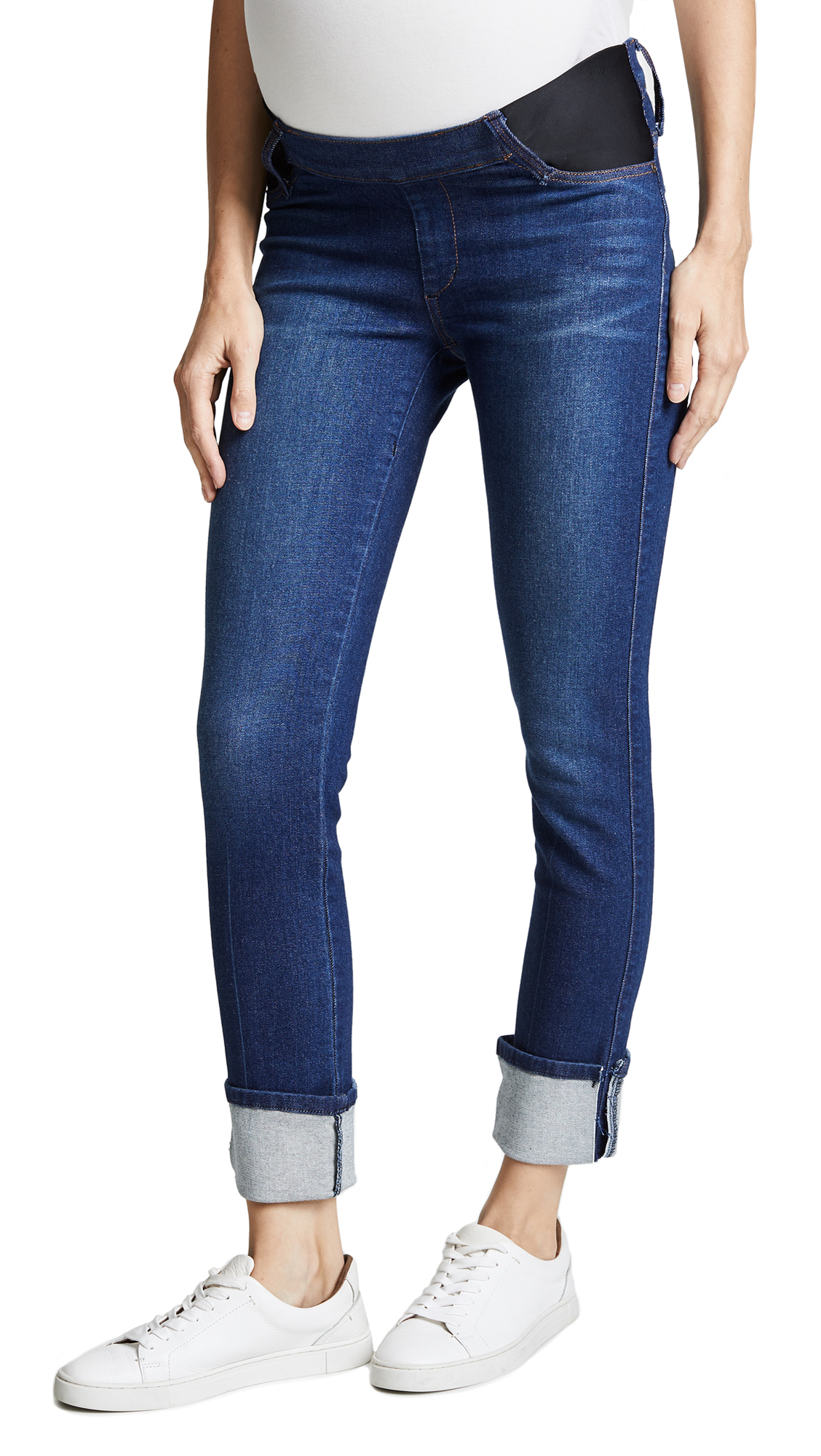 Ankle Straight Maternity Jeans