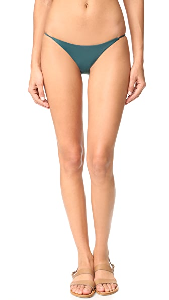 JADE Swim Bare Minimum Bottoms - Deep Teal