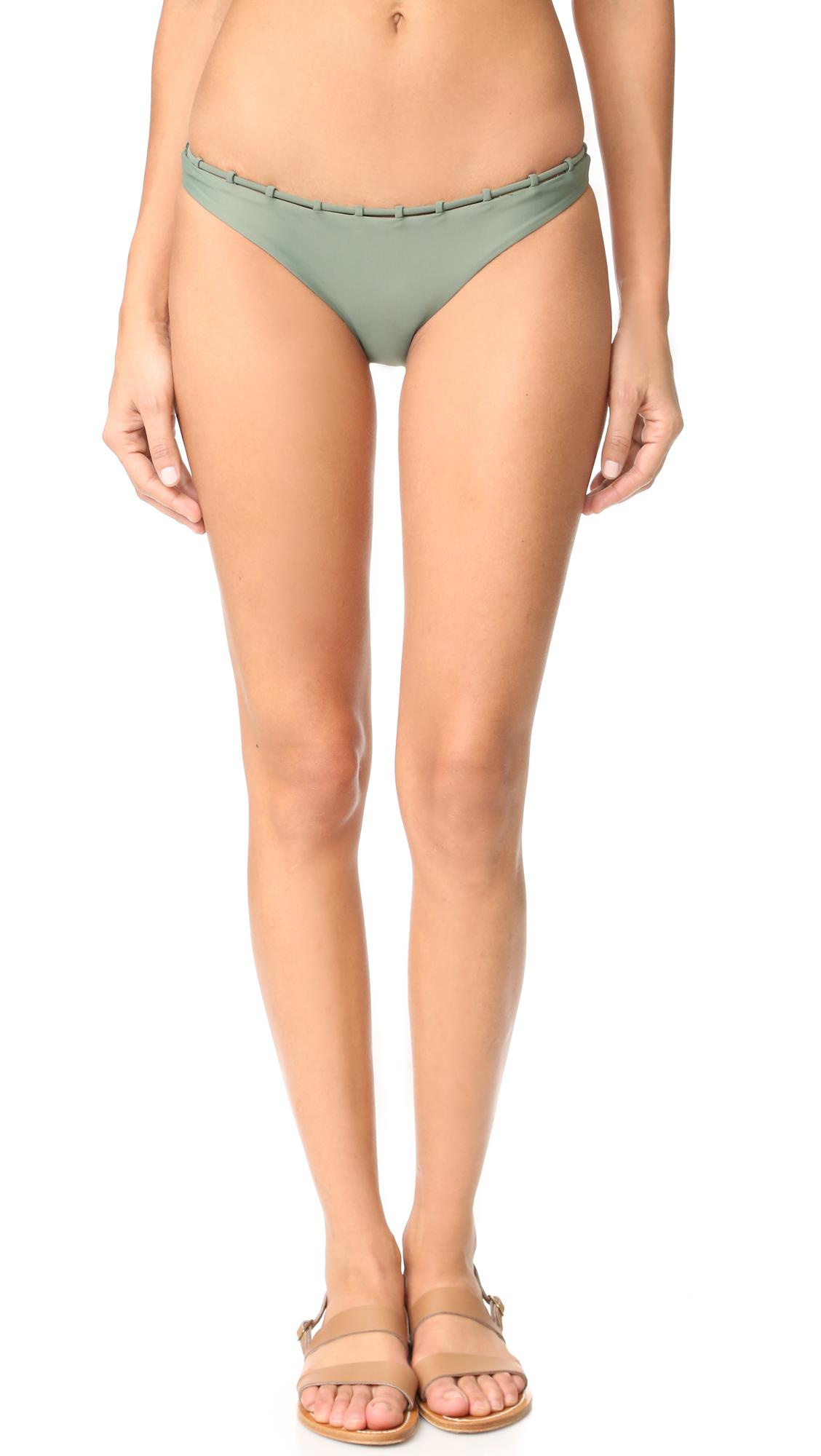 Jade Swim Chain Reaction Bottoms - Sage at Shopbop