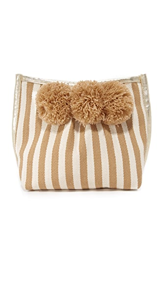 JADEtribe Valerie Make Up Bag - Sand