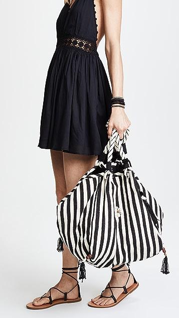 JADEtribe Valerie Rope Beach Hobo Bag