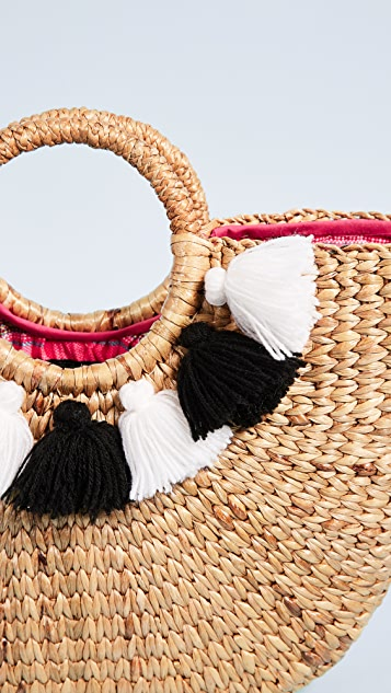 JADEtribe Basket Small Tassel