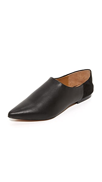 JAGGAR On Point Flats In Black