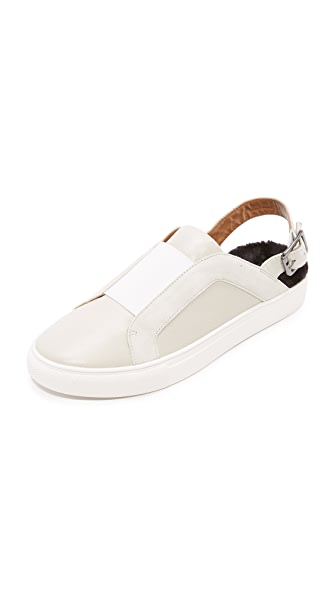 JAGGAR Sling Sneakers - Chalk