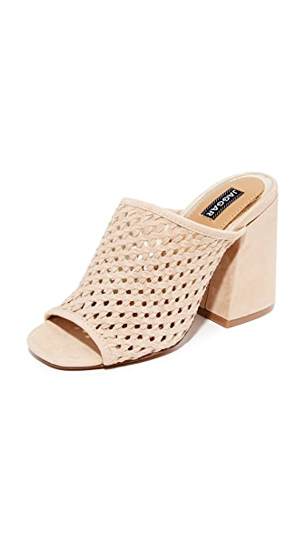 JAGGAR Touchstone Wedge Mules - Bone