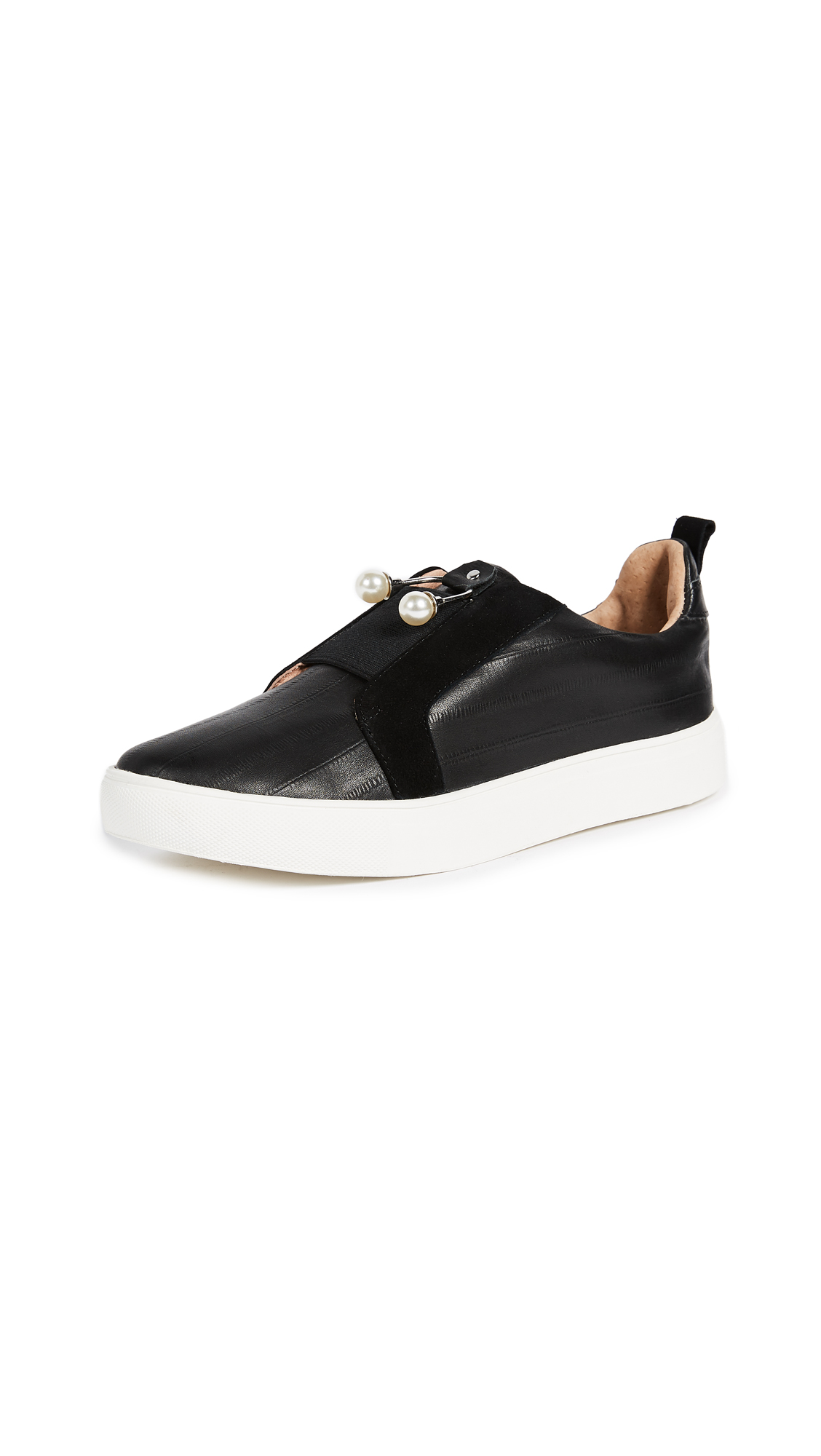 JAGGAR Jazz Slip On Sneakers - Black