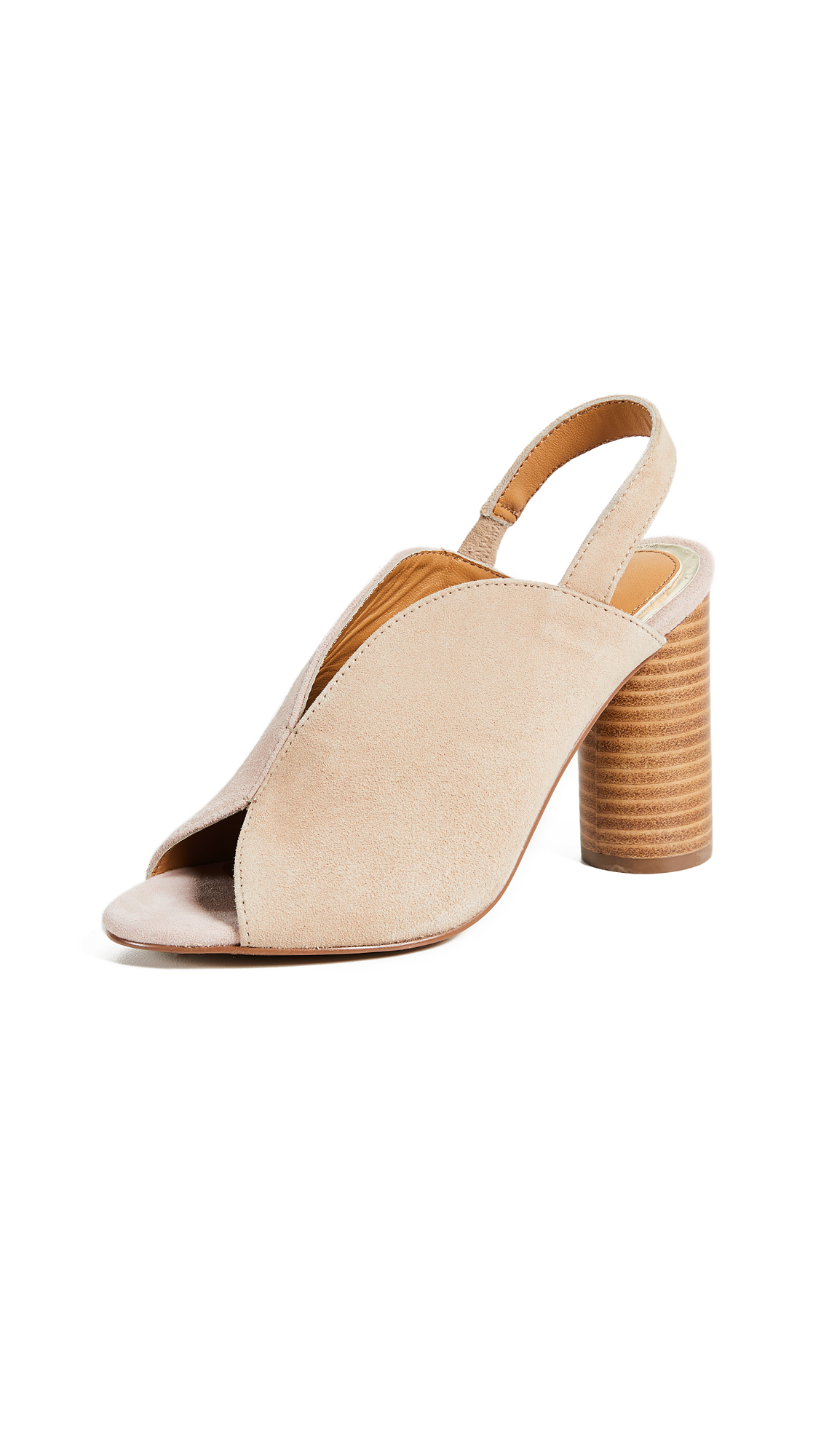JAGGAR Got Your Back Block Heel Sandals - Sand