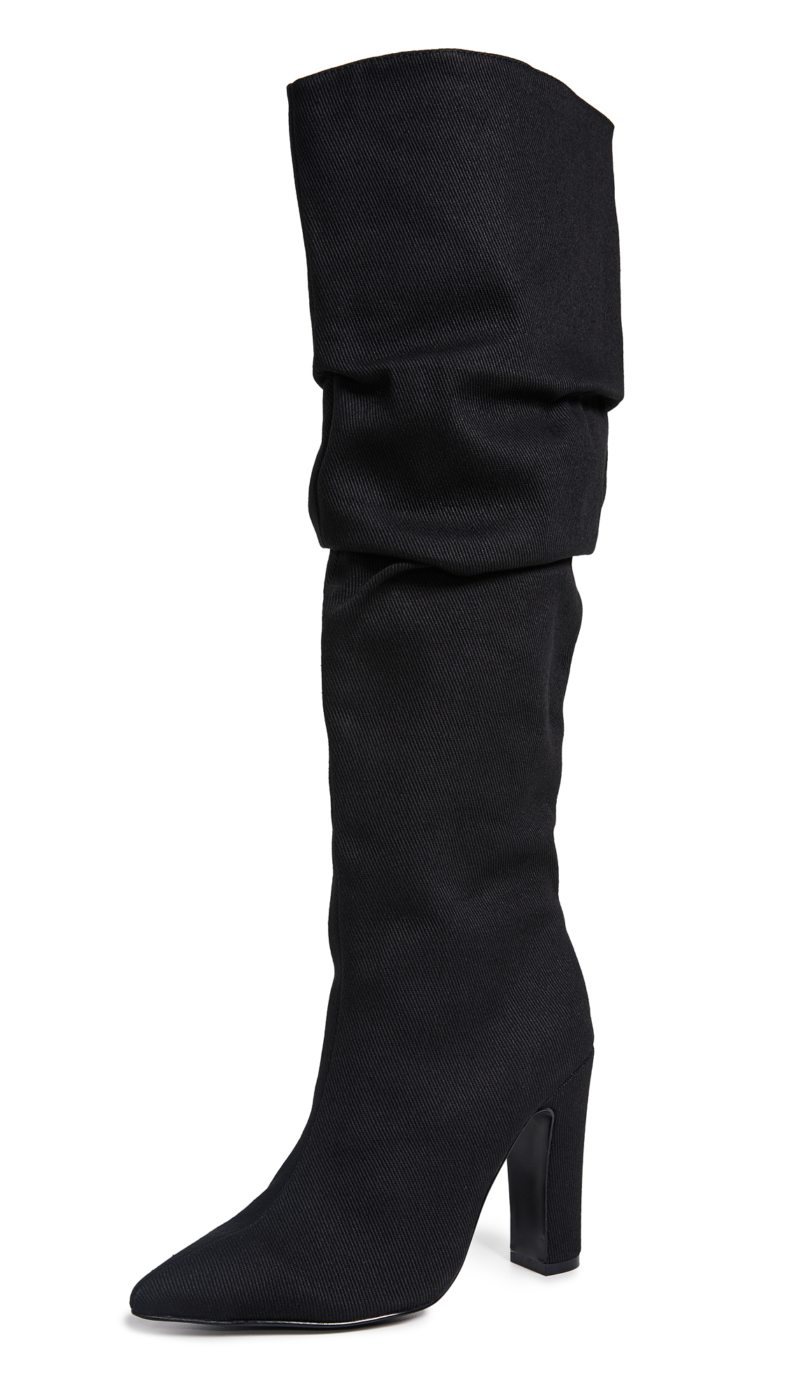 JAGGAR Fortune Elastic Boots In Black