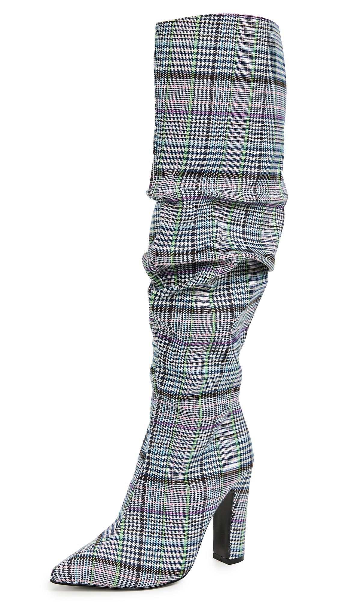 JAGGAR Fortune Check Boots - Multi Check