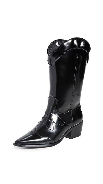 JAGGAR Tall Western Boots